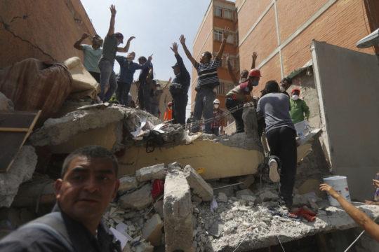 Mexico Earthquake Photo Gallery