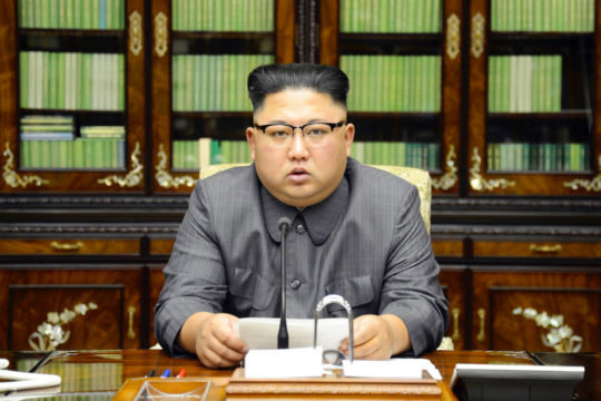 N.Korean leader hits back at USA threat