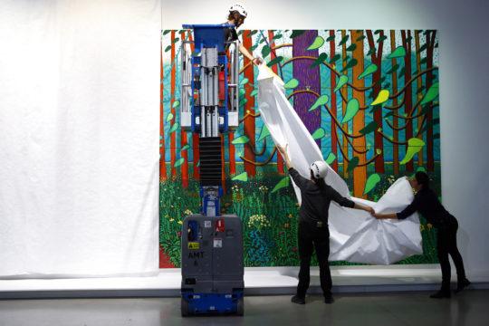 France David Hockney