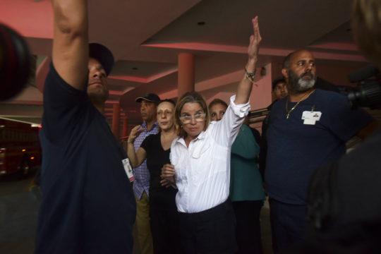 Trump cites 'great job' in helping Puerto Rico