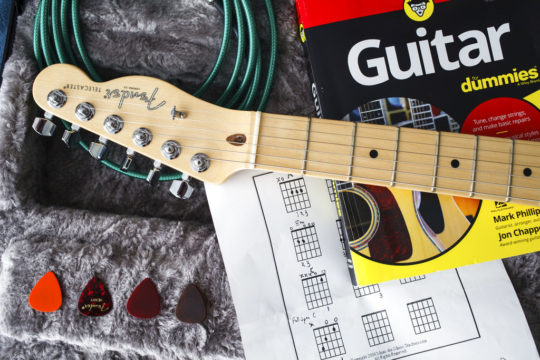 Learning to play guitar after 50