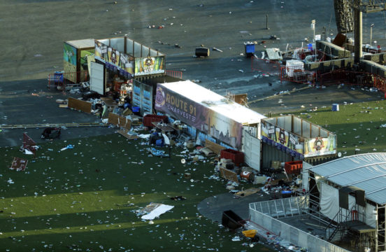 Las Vegas gunman rented room during earlier music festival