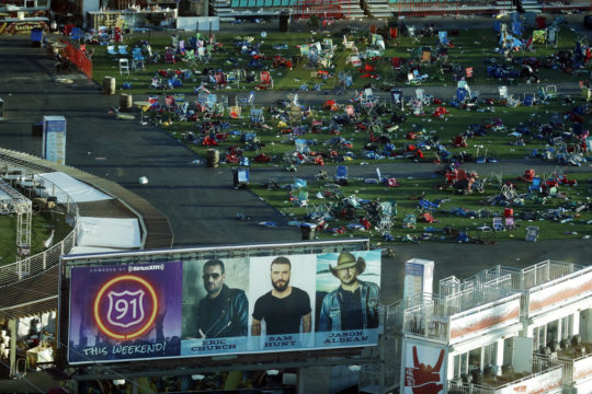 Las Vegas gunman may have planned earlier attack