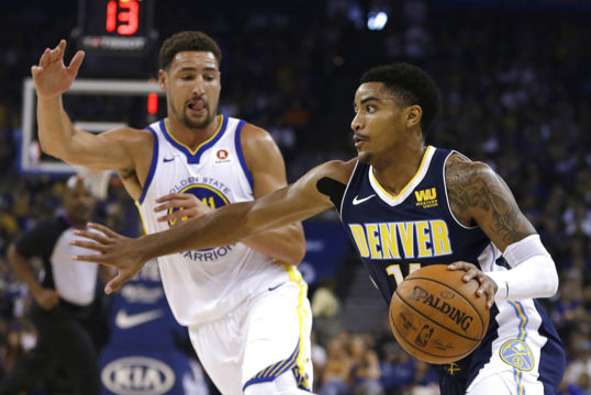 Klay Thompson, Gary Harris