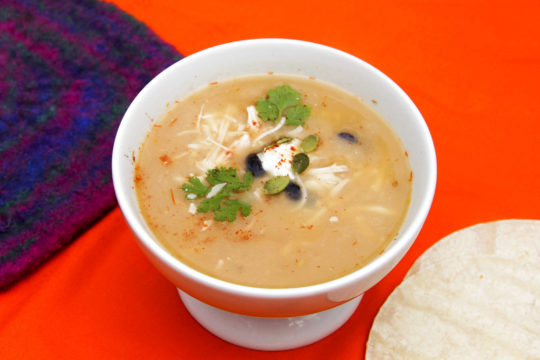 Food Healthy Plate Tortilla Soup