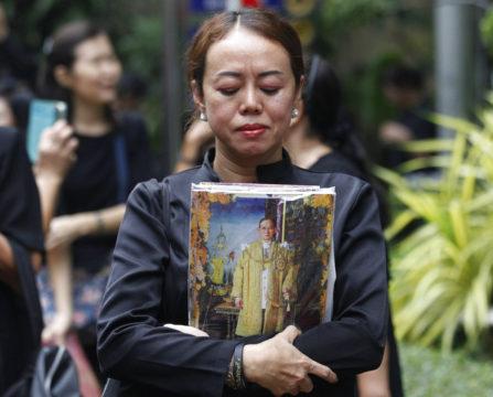 APTOPIX Thailand King Mourning