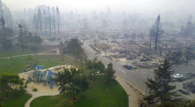 California WIldfires Air Quality