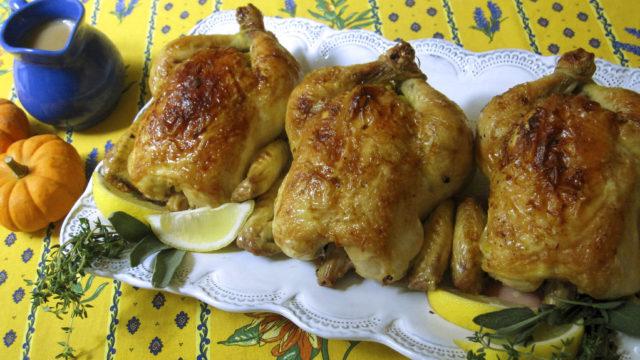 Food KitchenWise Thanksgiving Roast Birds