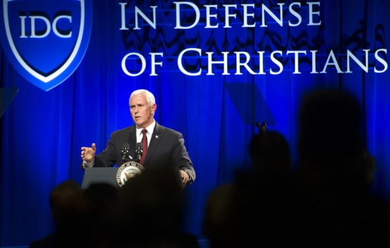 US VP Mike Pence to Include Israel in Pro-Christian Mideast Tour