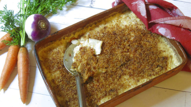 Food KitchenWise Root Vegetable Gratin