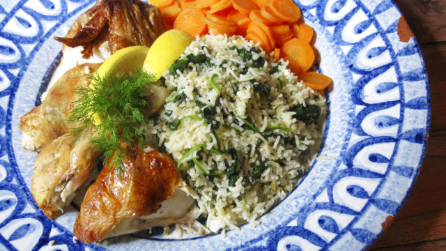 Food KitchenWise Greek Style Rice Pilaf