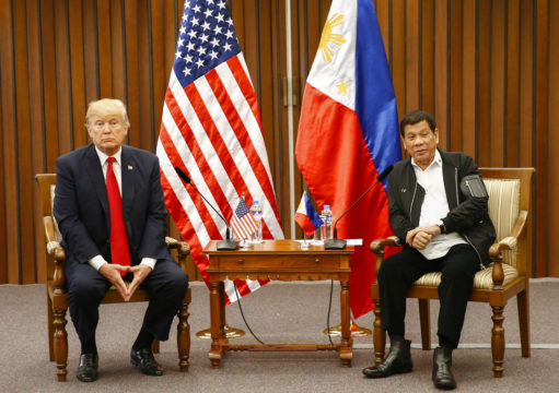 Trump does not rebuke Duterte for drug war killings