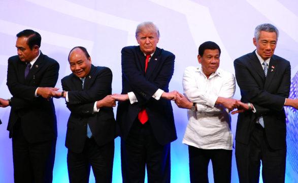 Donald Trump Rodrigo Duterte Nguyen Xuan Phuc Prayuth Chan-ocha