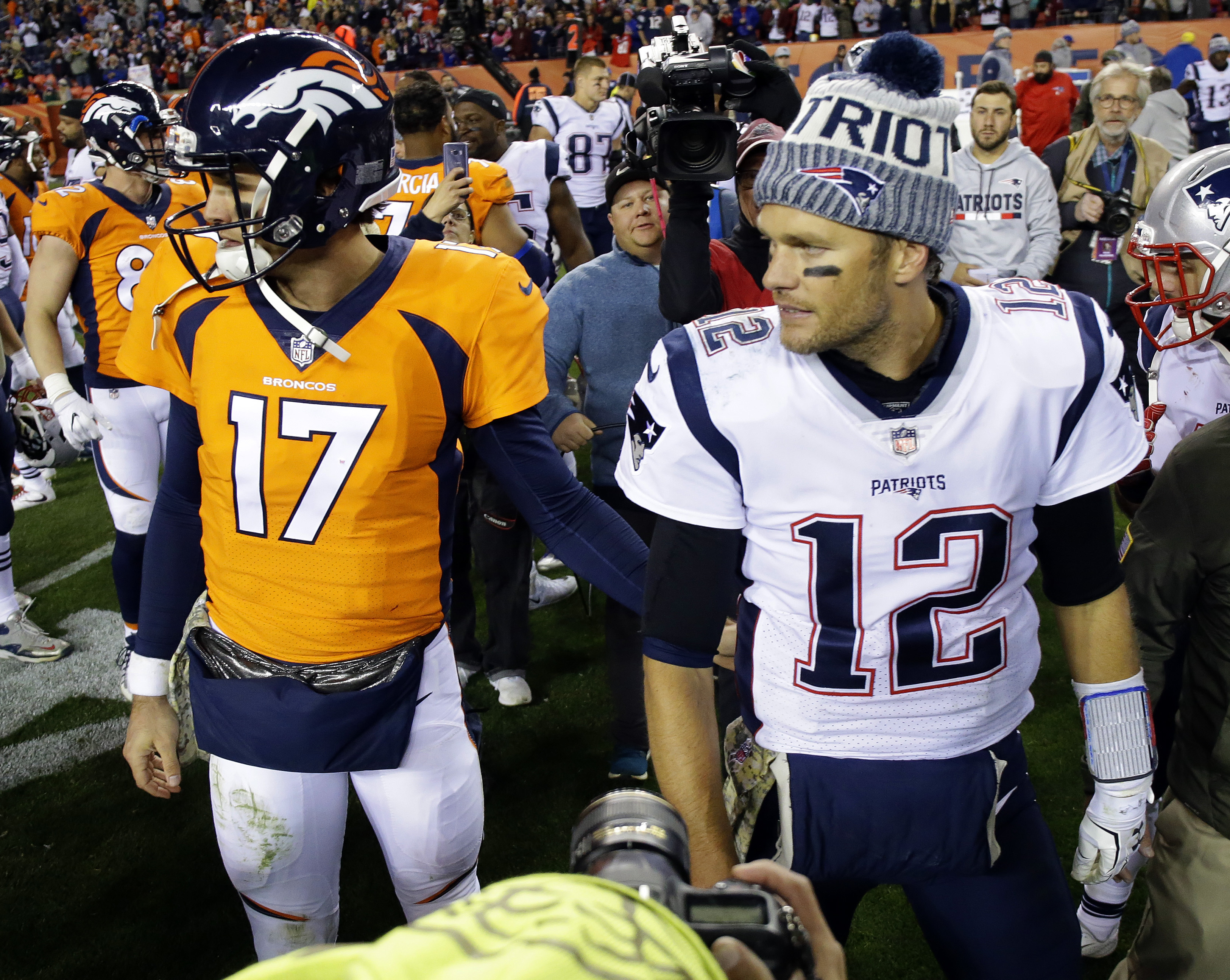 Broncos WR Emmanuel Sanders: 'Paxton has a big-time arm'