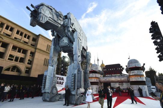 "APTOPIX LA Premiere of ""Star Wars: The Last Jedi"""