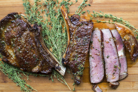 Food Deadline Rib Eye Steaks
