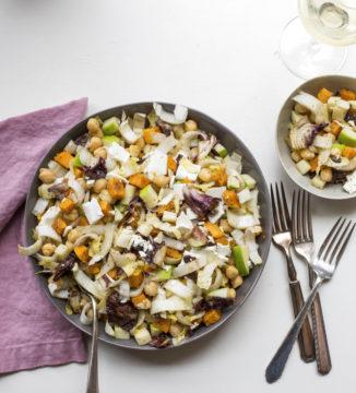 Food Deadline Chopped Winter Salad