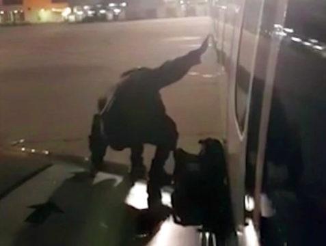 Spain Impatient Passenger