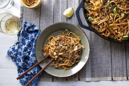 Food Deadline Dan Dan Noodles