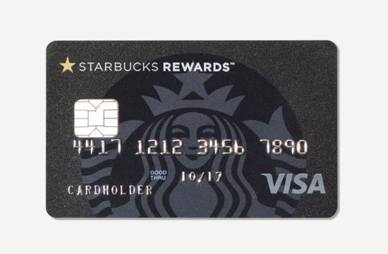 Starbucks has a Credit Card for Coffee Addicts