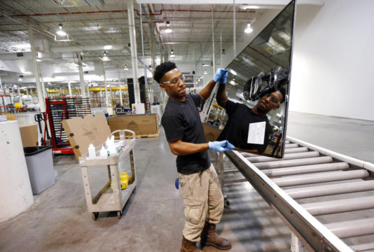 US factory output fails to grow for second straight month