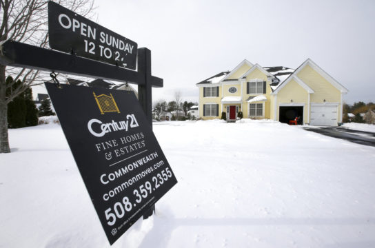 Sign of inflation? Mortgage rates hit almost four-year high