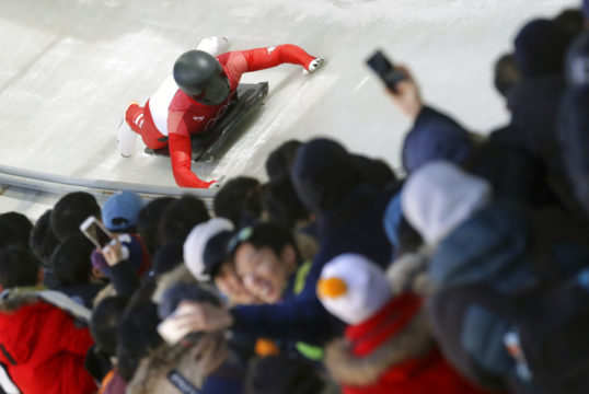 Yun's the one: South Korea gets men's skeleton Olympic gold