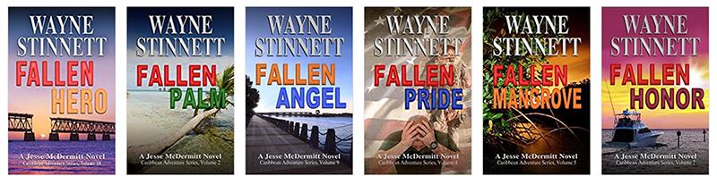 Wayne Stinnett book covers