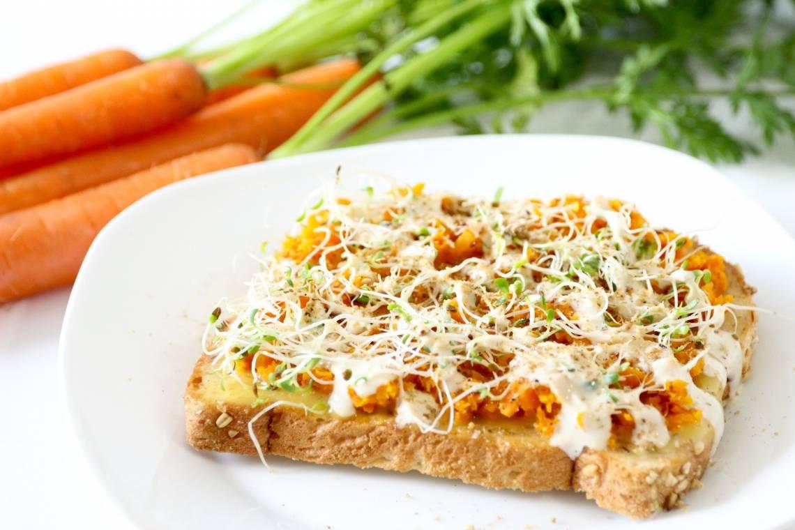 Carrot Toast - RawSpiceBar 1