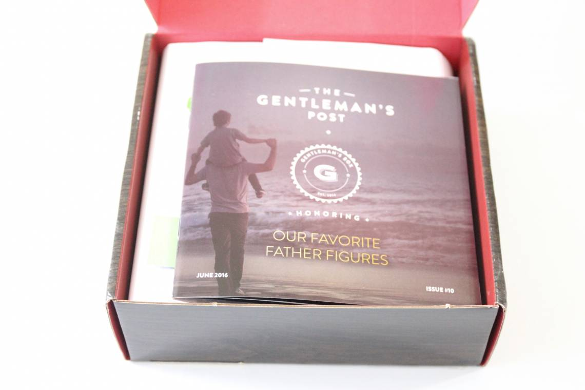 Gentleman's Box Review June 2016 2