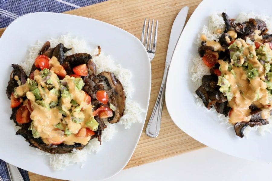 Chef's Plate Review: Maple Chipotle Portobello Mushrooms