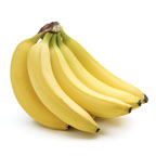 144  0003 bananas   one 2 pak of 5 lbs. bunches