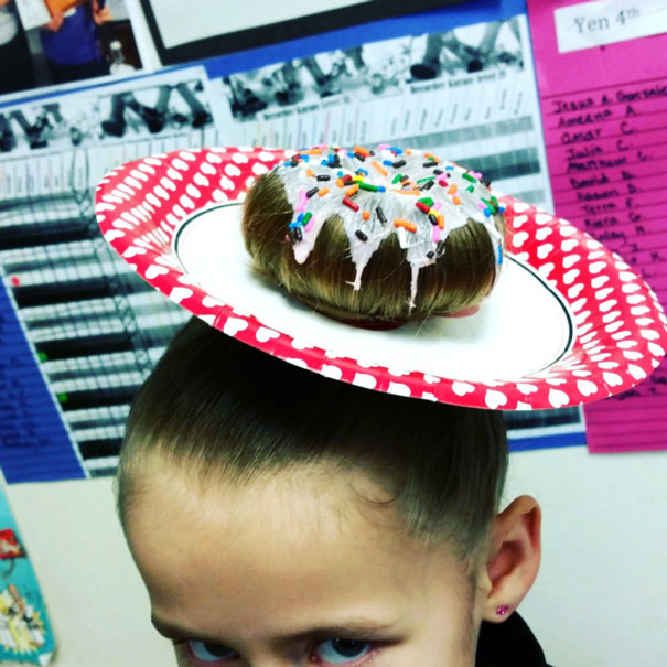 Quirky Hairdos Sported By Kids