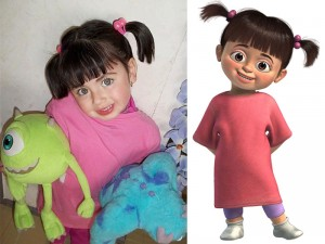 Cartoon Character Lookalikes