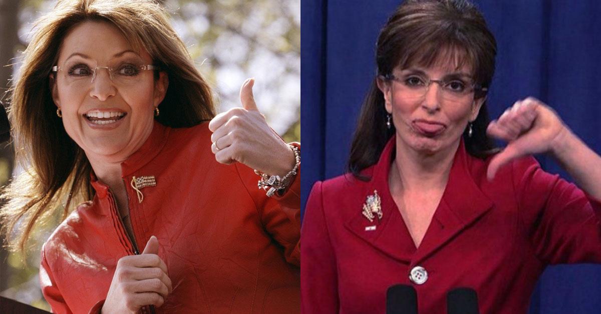 Tina Fey vs sarah palin