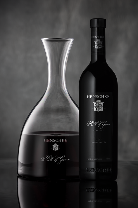 Henschke Hill of Grace 2012 Single Vineyard Shiraz and Decanter