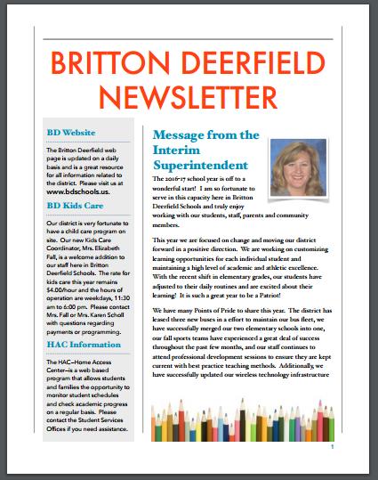 BD News Letter Image