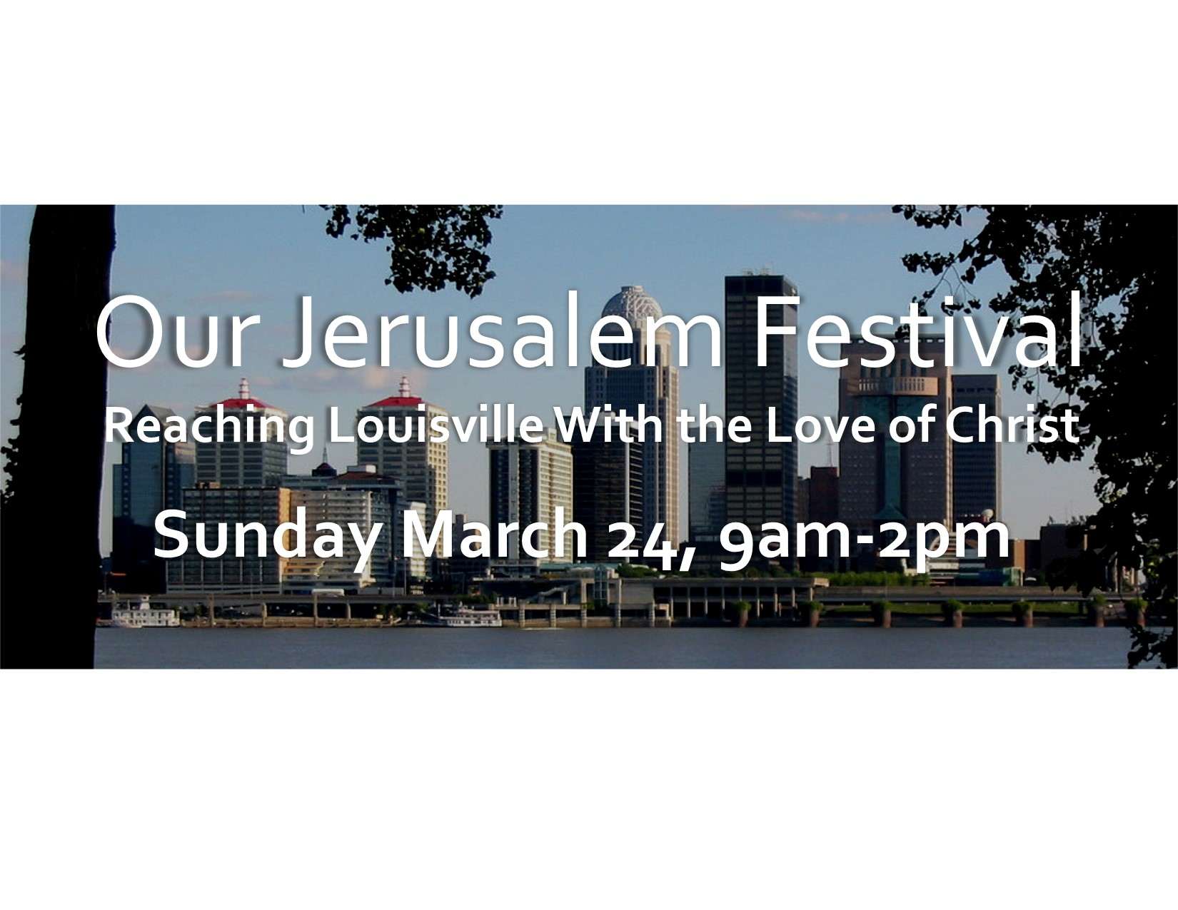 """Our Jerusalem"" Festival sermon"