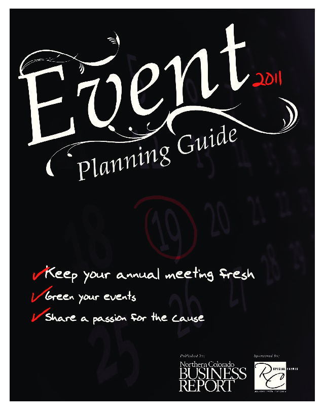 Event Planning Guide – 2011