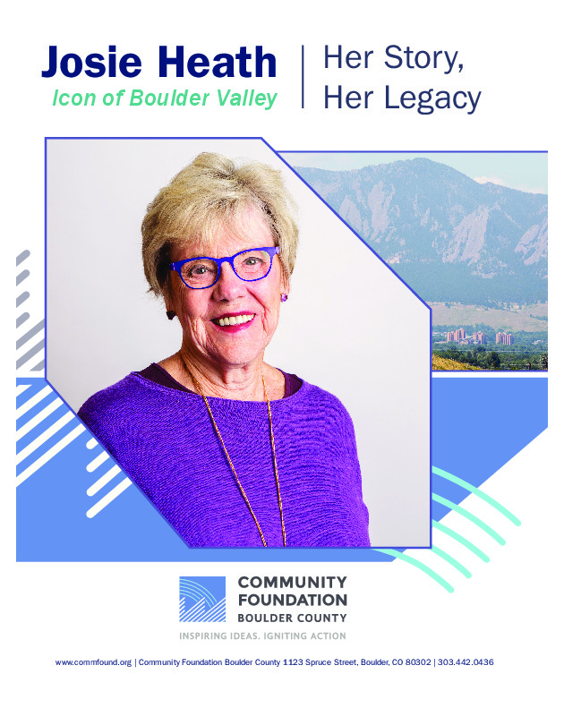 Josie Heath: Icon of Boulder Valley