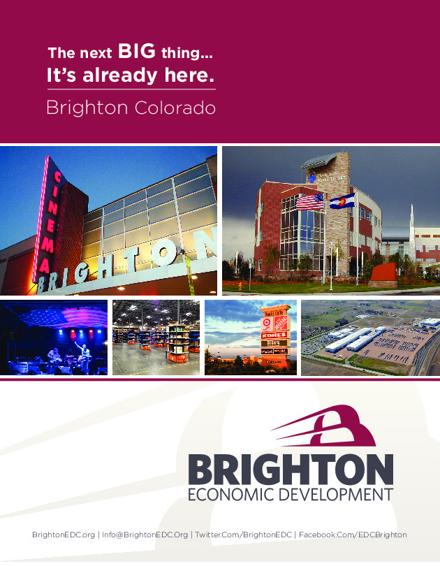 2016 – Brighton Economic Development