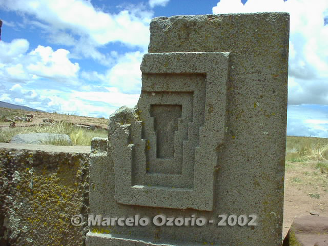 tiwanaku archaeological site bolivia 117 - Tiwanaku, pre-columbian archaeological and world heritage site at Bolivia