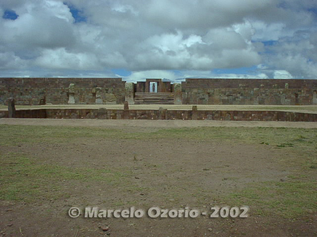 tiwanaku archaeological site bolivia 14 - Tiwanaku, pre-columbian archaeological and world heritage site at Bolivia