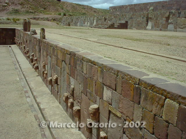 tiwanaku archaeological site bolivia 18 - Tiwanaku, pre-columbian archaeological and world heritage site at Bolivia
