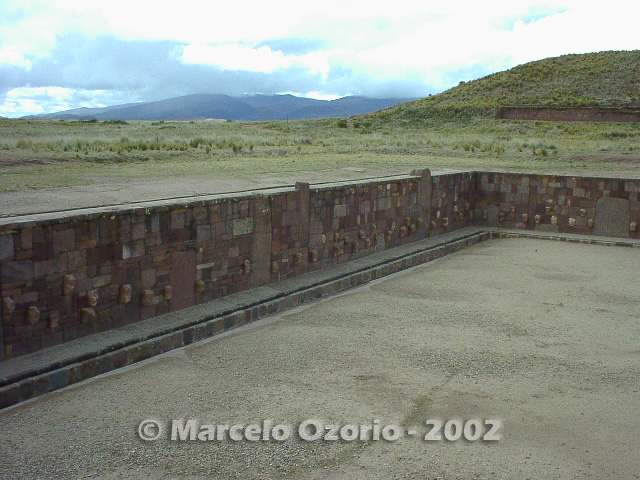 tiwanaku archaeological site bolivia 20 - Tiwanaku, pre-columbian archaeological and world heritage site at Bolivia