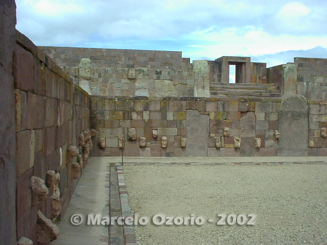 tiwanaku archaeological site bolivia 23 - Tiwanaku, pre-columbian archaeological and world heritage site at Bolivia