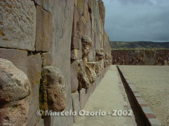 tiwanaku archaeological site bolivia 26 - Tiwanaku, pre-columbian archaeological and world heritage site at Bolivia