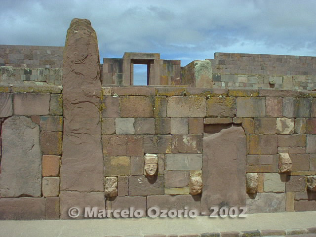 tiwanaku archaeological site bolivia 28 - Tiwanaku, pre-columbian archaeological and world heritage site at Bolivia