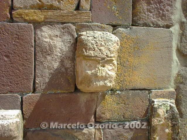 tiwanaku archaeological site bolivia 31 - Tiwanaku, pre-columbian archaeological and world heritage site at Bolivia