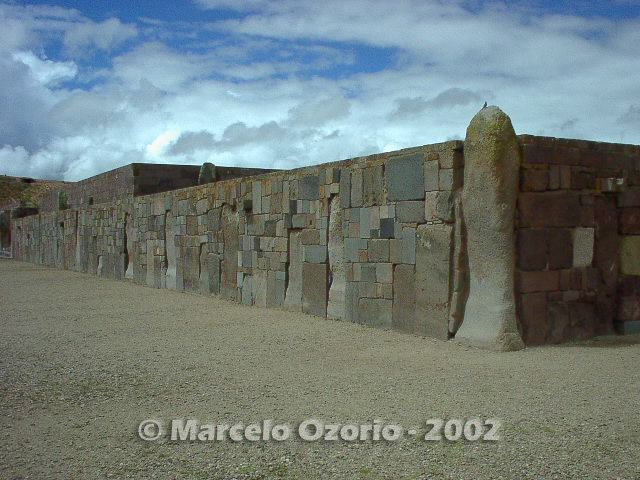 tiwanaku archaeological site bolivia 48 - Tiwanaku, pre-columbian archaeological and world heritage site at Bolivia